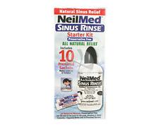 NEILMED Sinus Rinse STARTER KIT includes 10 sachets WITH BOTTLE