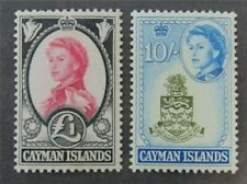 nystamps British Cayman Islands Stamp # 166.167 Mint OG NH $45
