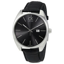 Calvin Klein Exchange Black Dial Mens Watch K2F21107