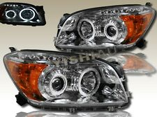 TOYOTA RAV4 DUAL CCFL HALO PROJECTOR HEADLIGHTS CLEAR