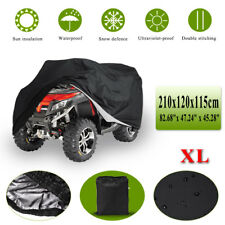XL Full ATV Cover Waterproof Breathable Rain Snow Dust Heat Resistant Protection