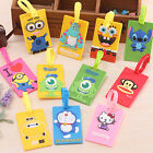 Novelty Silicone Travel Luggage Tags Baggage Suitcase Bag Labels Name Address