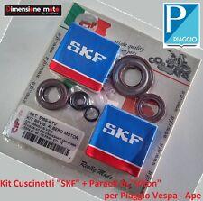 Cuscinetti SKF + Paraoli in VITON per Albero Motore Piaggio Vespa 50 Special