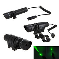Tactical Red/Green Dot Laser Sight     Hunting Scope Rail+Remote Switch