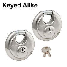 Master Stainless Lock-Keyed Alike Trailer Locks 40T  VALUE PACK