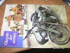 !!! Gazette des armes n°63 Chassepot Moto militaire Espingole danoise Canon 75