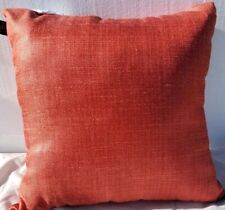 "Hallmart Collectibles Textured 18"" Decorative Pillow- Coral"