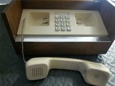 Vintage Western Electric Pinpad Landline Telephone In Wood Box 2910A10-050
