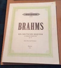 Brahms A German Requiem op. 45