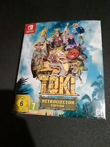 Toki Nintendo Switch Borne Arcade Retro Collector Édition