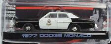 Greenlight Hollywood The Terminator 1977 Dodge Monaco 1:64 Diecast Car 44790-C