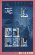 Italia 2019  GIORNATA DELLA FILATELIA  Foglietto Nuovo (6 Francobolli)