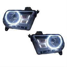 2010-11 Mustang Headlights,SMD Halo,Clear Lens,Chrome Housing,Halo Illumination