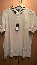 FRED PERRY M6200 Gris chiné XL (b.n.w.t.)
