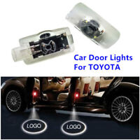 2xCree LED Car Door Courtesy Laser Projector Logo Ghost Shadow Lights For TOYOTA