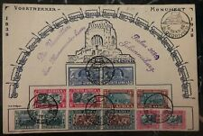 1938 Bloedrivier South Africa First Day Souvenir Cover FDC Voortrekker Monument