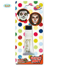 Guirca Carnevale Halloween Crema Trucco Make Up Bianco 20 ml ref 15442 White