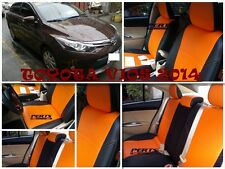 Toyota Vios High quality Factory Fit Customized Leather CAR SEAT COVER