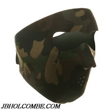 "WOODLAND CAMO FULL SNOW SKI DUCK HUNTING FACE MASK ""NEW"""
