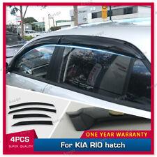 AUS Weather Shields Weathershields Window Visor for KIA RIO hatch 17-20 #S
