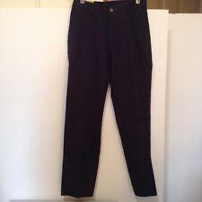 Lee Mens 30x32 Stain Resist Relaxed Fit Wrinkle Resist Navy Pants NWT! (#CB16-4)