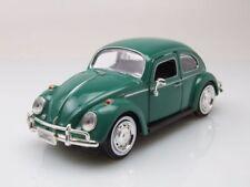 VW ESCARABAJO 1966 verde, Coche Modelo 1:24 / Motormax