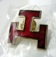 Royal Arch Freemason Masonic Triple Tau Lapel Pin Badge