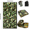 Camouflage Emergency Survival Camping Sleeping Bag Thermal Waterproof Outdoor US