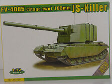 FV-4005 183 mm JS-Killer (Centurion var.) ACE Panzer Bausatz 1:72 - 72429 #E