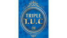 Triple TUC Quarter (D0182) Gimmicks and Online Instructions by Tango - Magic
