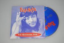 Pata Negra - Yo quisiera ser + Al cuerpo hay que darle placer. CD-SINGLE PROMO