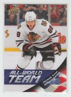(69871) 2011-12 UPPER DECK SERIES 1 PATRICK KANE ALL WORLD TEAM #AW23