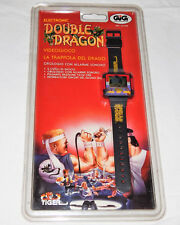 VINTAGE TIGER/GIG DOUBLE DRAGON LCD HANDHELD GAME WRIST WATCH/NOS/mortal combat