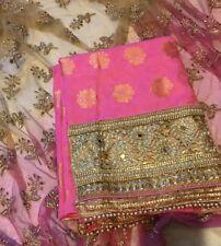 BRAND NEW: Unstitched Punjabi Indian Salwaar Kameez Suit
