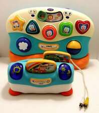 Used - VTech V.Smile Baby Infant Development Learning System - W/2 Cartriges