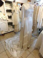 Kleid von Braut Antike Seidensatin