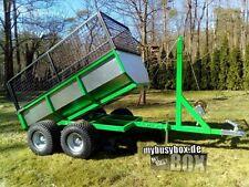Rasentraktor - / Mini Traktor - / Schlepper / Quad - / Forst -  Anhänger Kipper