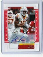 2019 SCORE DRAFT HAKEEM BUTLER ROOKIE AUTO #350 RED ZONE 4/20 CARDINALS PD