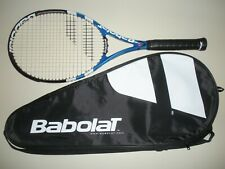 BABOLAT PURE DRIVE PLUS + RODDICK GT 11.0oz TENNIS RACQUET 4 5/8 (NEW STRINGS)