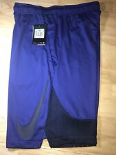 Men's Nike Shorts Navy Blue With Black 2XL Retails $45.00