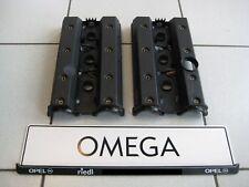 2 Zylinderkopfhauben Omega B MV6 X25XE X30XE mit Dichtungen vom Opel Händler