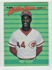 1988 Fleer All Star Team #7 Eric Davis Cincinnati Reds Baseball Card
