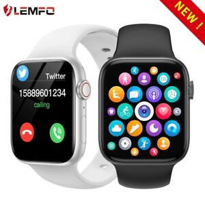 Smart Watch for iPhone iOS Android Phone Bluetooth Waterproof Smart Assistant