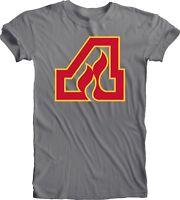 Atlanta Flames DEFUNCT NHL Hockey Vintage style Gray Tee T-SHIRT Team Sports new