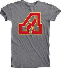 Atlanta Flames Defunct Nhl Hockey Handmade Tee T-Shirt Team Sports Men's Falcons