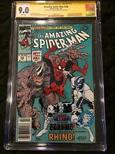 Amazing spider-man 344 Cgc 9.0 Newsstand SS Larsen Salicrup First Cletus Kasady