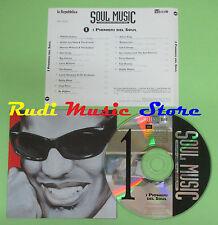 CD SOUL MUSIC 1 PIONIERI SOUL compilation PROMO 96 RAY CHARLES SAM COOKE*(C17**)