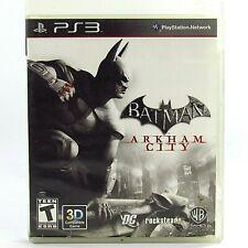 """Batman: Arkham City"" Playstation 3 2011 PS3 Complete"