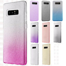 For Samsung Galaxy Note 8 SHINE Hybrid Hard Case Rubber Phone Cover Accessory