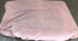 POTTERY BARN Kids Baby PINK Minky Soft Plush Velour CHANGING PAD COVER
